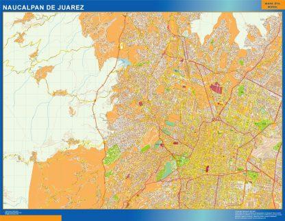 mapa Naucalpan de Juarez