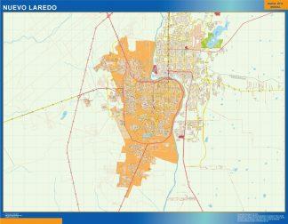 mapa Nuevo Laredo