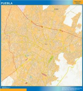 mapa Puebla centro