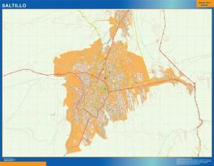 mapa Saltillo