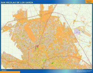 mapa San Nicolas de los Garza