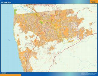 mapa Tijuana
