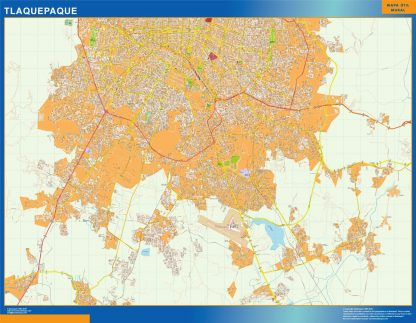 mapa Tlaquepaque