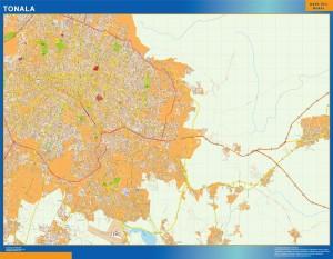 mapa Tonala