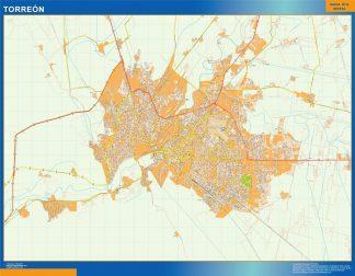 mapa Torreon