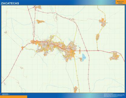 mapa Zacatecas