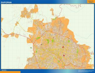 mapa Zapopan