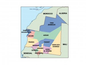 mauritania presentation map