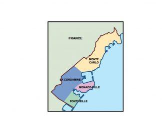 monaco presentation map