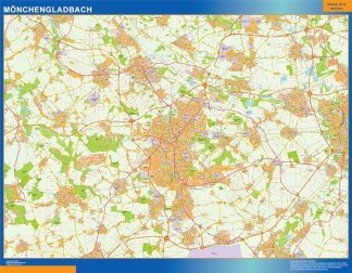 monchengladbach wall map
