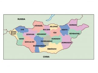 mongolia presentation map