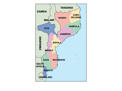 mozambique presentation map