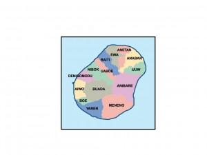 nauru presentation map