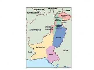 pakistan presentation map