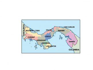 panama presentation map