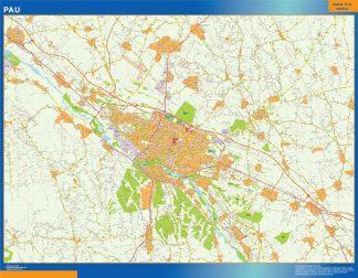 pau wall map