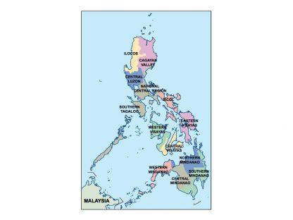 philippines presentation map