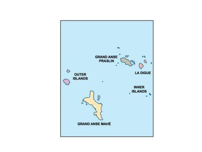 seychelles presentation map