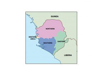 sierra leone presentation map
