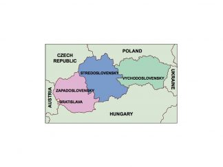 slovakia presentation map