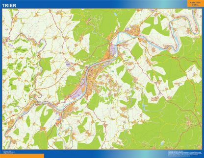 trier wall map
