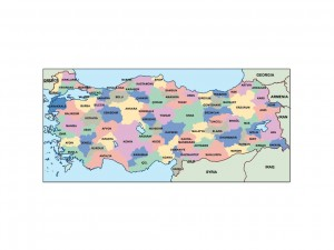 turkey presentation map