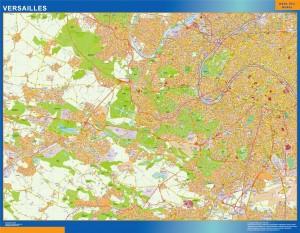 versailles wall map