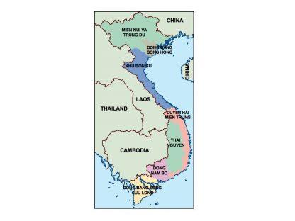 vietnam presentation map