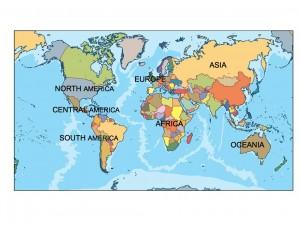 world presentation map