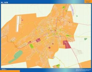 Al Ain magnetic map