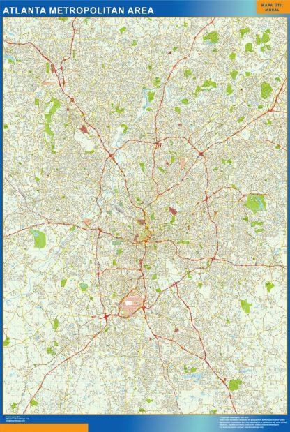Atlanta Magnetic Map