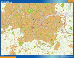 Birmingham Magnetic Map