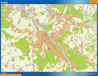 Bonn Wandkarten