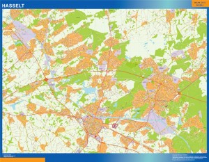 Carte Magnetique Hasselt