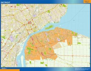 Detroit Magnetic Map