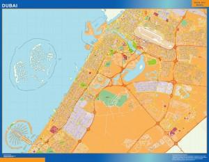 Dubai magnetic map