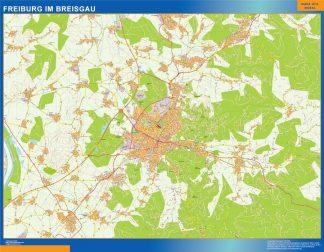 Freibug Im Breisgau Wandkarten