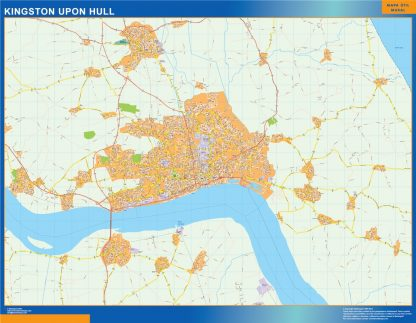 Kingston Upon Hull Magnetic Map