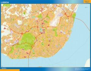 Lisboa Mapa Magnetico
