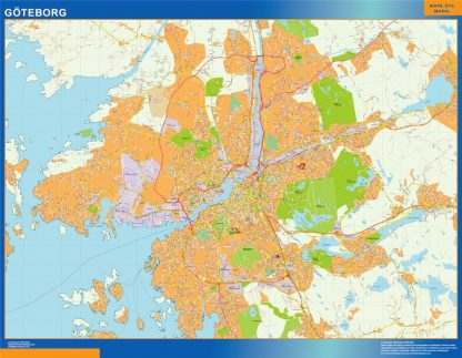 Magnetic map Goteborg