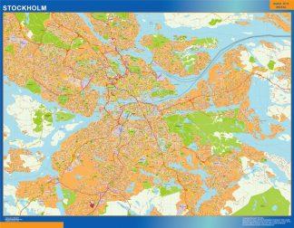 Magnetic map Stockholm