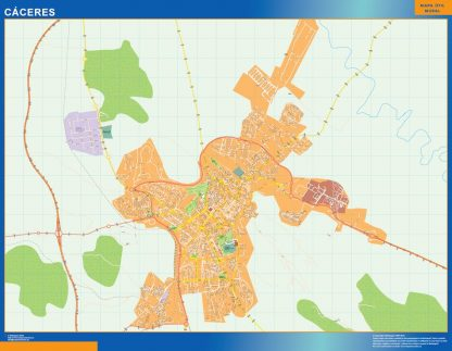 Mapa Magnetico Caceres