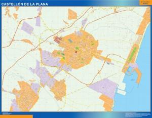 Mapa Magnetico Castellon De La Plana
