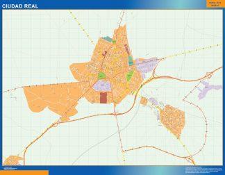 Mapa Magnetico Ciudad Real