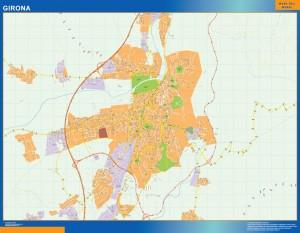 Mapa Magnetico Girona