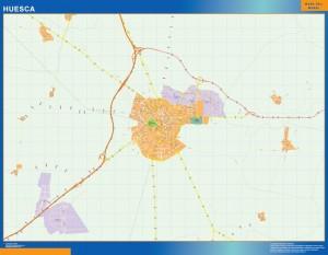 Mapa Magnetico Huesca