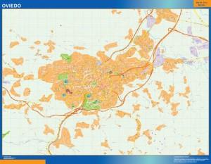 Mapa Magnetico Oviedo