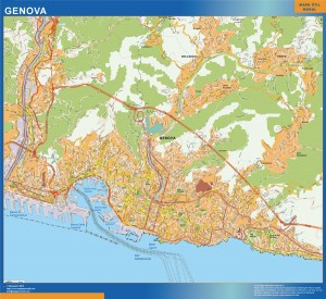Mappa Magnetica Genoa