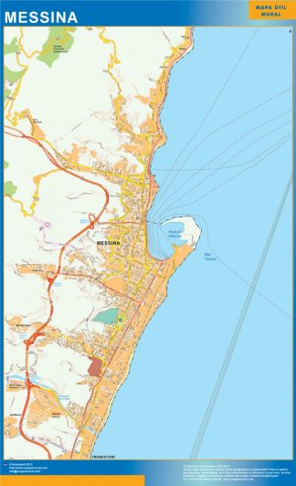 Mappa Magnetica Messina