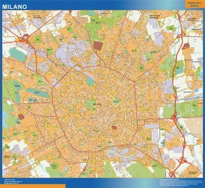 Mappa Magnetica Milano